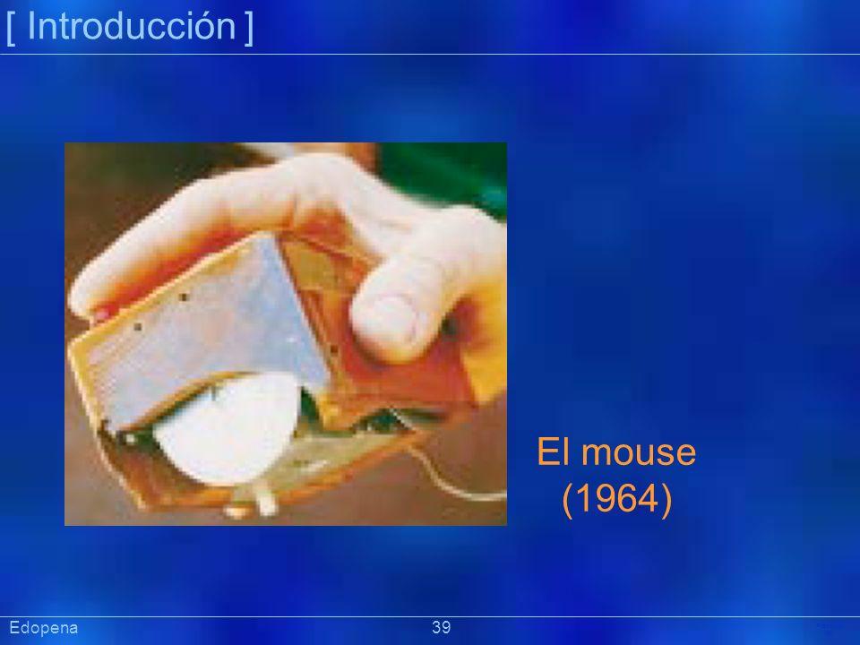 [ Introducción ] El mouse. (1964) Edopena 39.